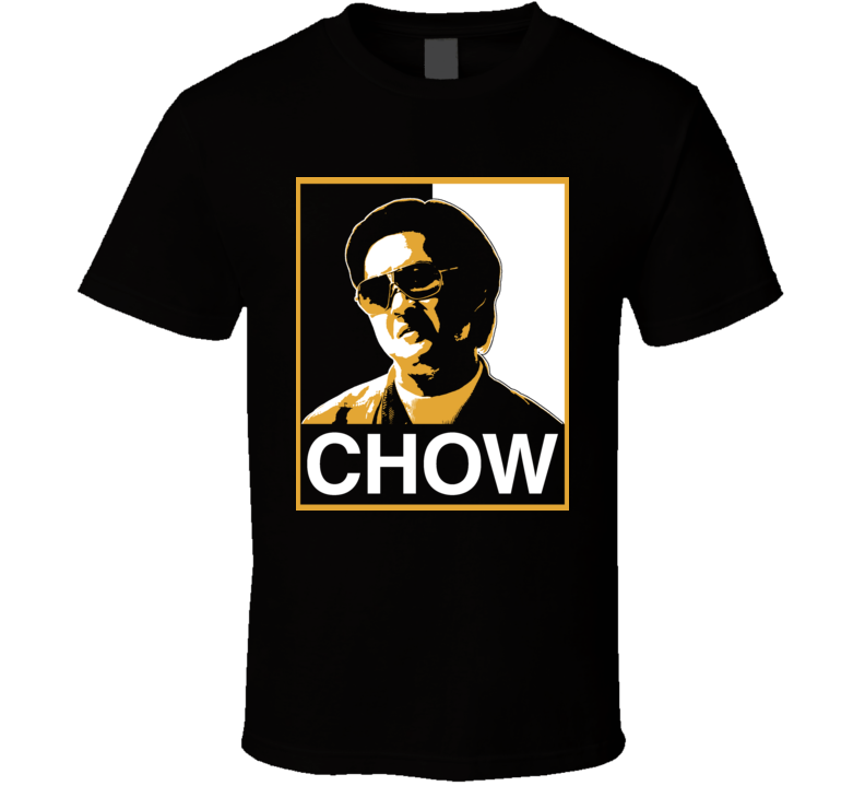 Mr Chow The Hangover Hope Style Funny Movie T Shirt