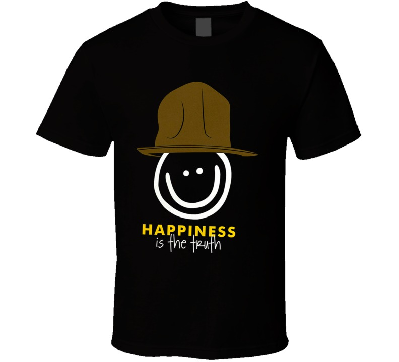 Pharell Peace Love World Hapiness Is The Truth Hip Hop T Shirt