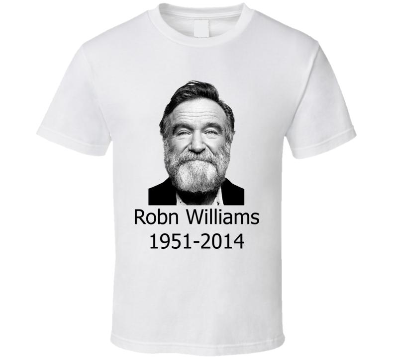 Robin Williams Movie Classic RIP Actor T Shirt