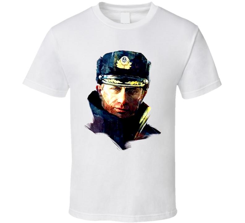 Vladimir Putin Russia President General GUM Mickey Rourke KGB T Shirt New!!