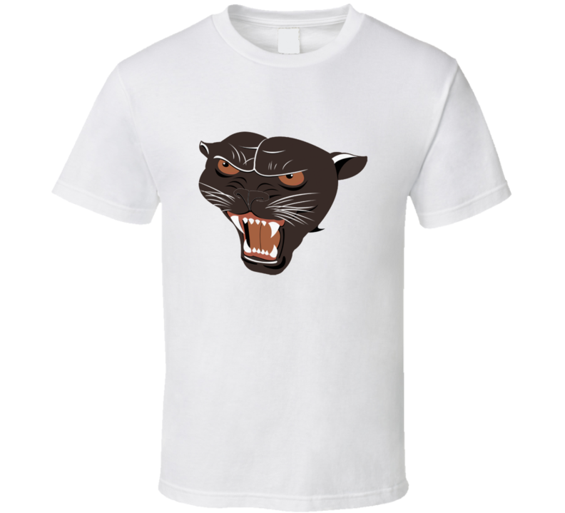 Rowdy Roddy Piper Panther Wrestling Logo T Shirt