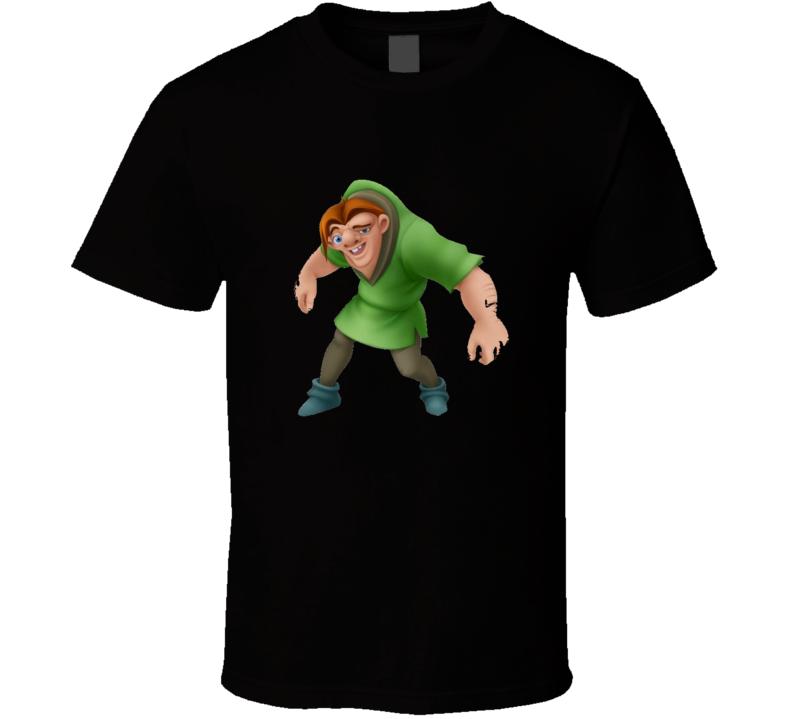 Quasimodo Cartoon Hunchback Cartoon T Shirt
