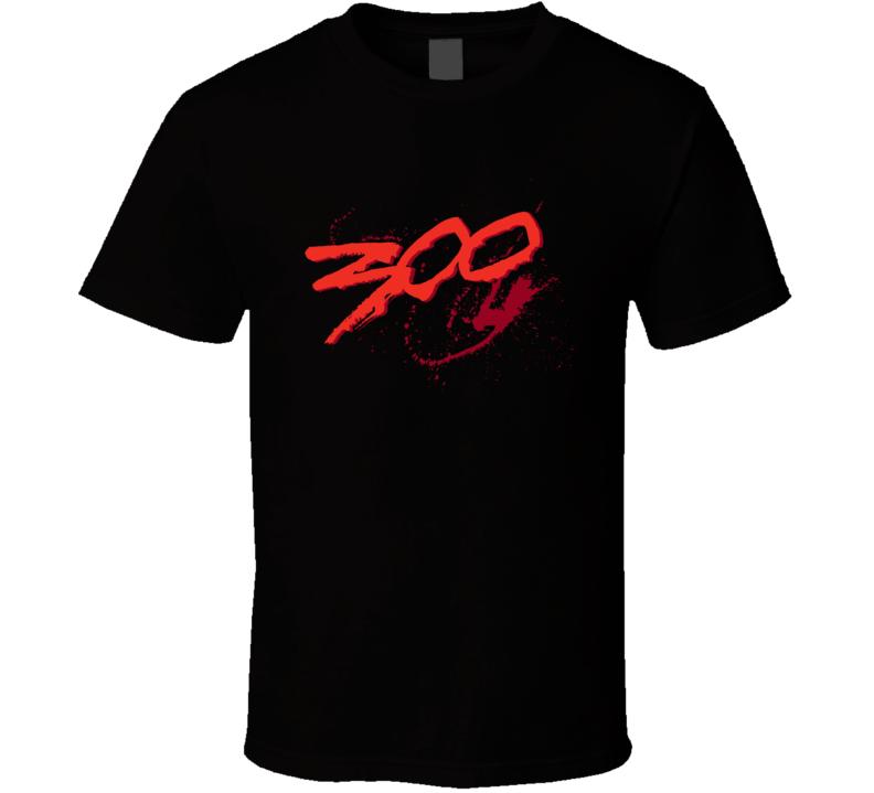 300 Spartan Movie Logo T Shirt