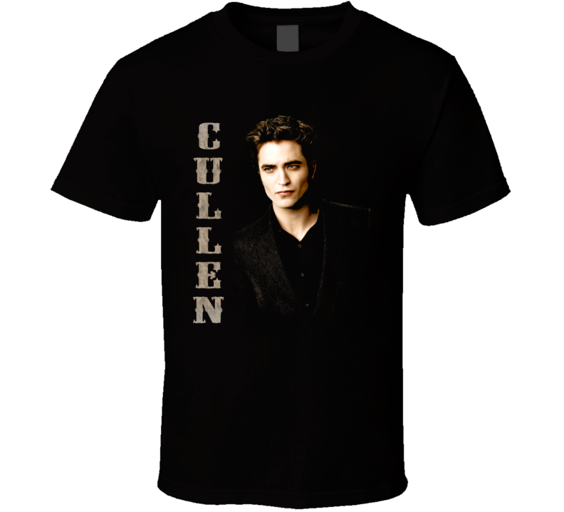 Twilight Edward Cullden Book Movie T Shirt