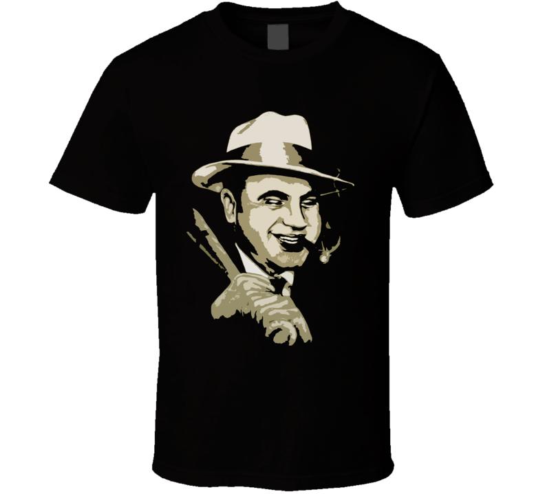 Al Capone Baseball Bat T Shirt