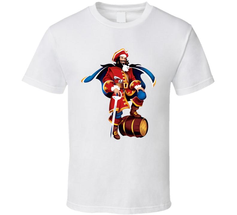 The Captain Morgan Rum T Shirt