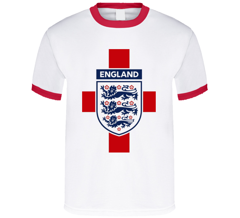 designer fashion 87837 f9305 England National Football Team Logo T Shirt