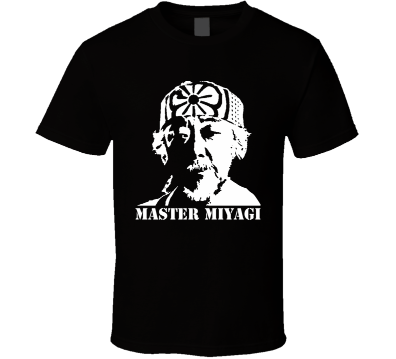 Mr Miyagi Karate Kid Movie T Shirt