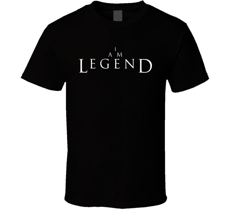 I Am Legend Movie T Shirt