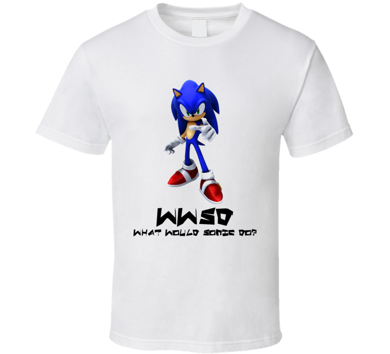 Wwjd Sonic The Hedgehog Video Game T Shirt