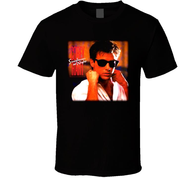 Corey Hart Sunglasess At Night T Shirt