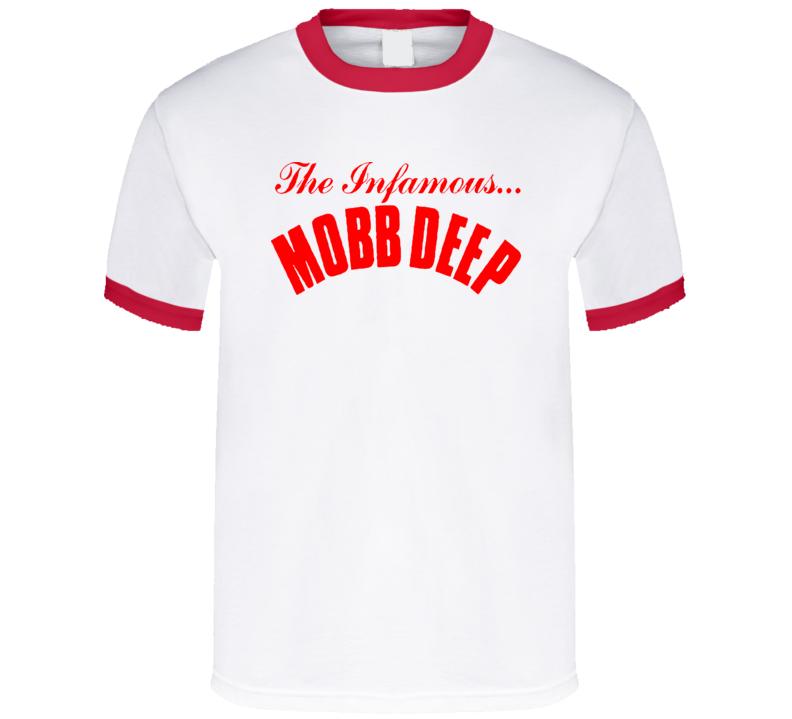 Mobb Deep The Infamous Logo Rap T Shirt