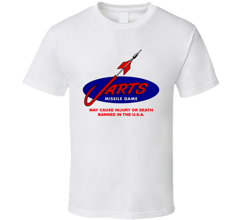Jarts Missle Game Darts 80's T Shirt