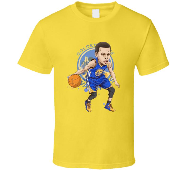 Stephen Curry MVP Warriors All Star Golden State Basketball T Shirt