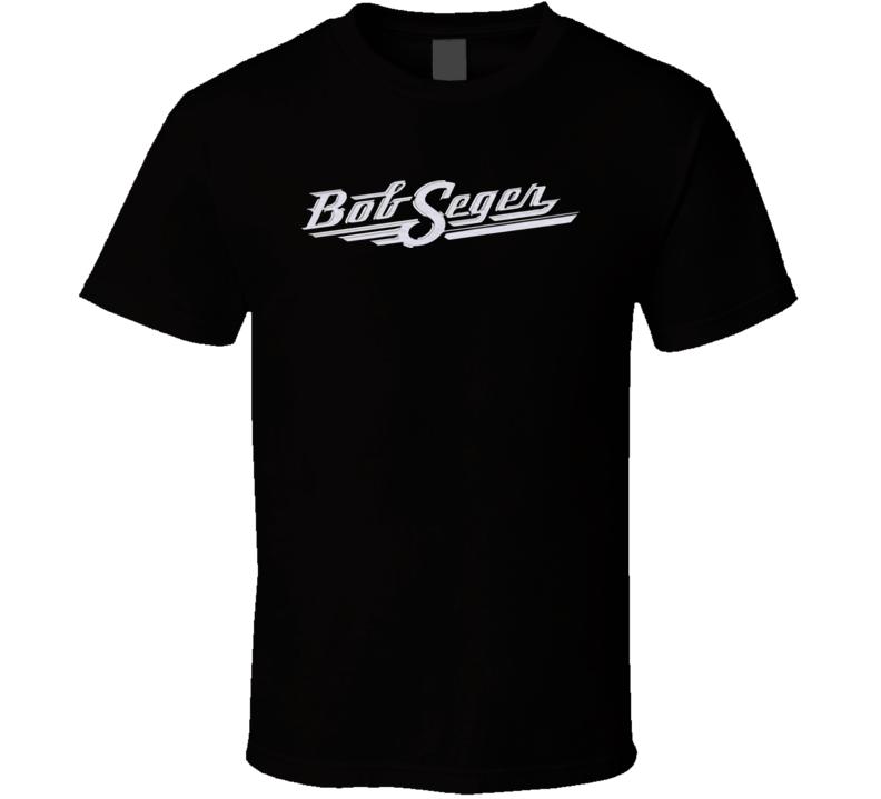 Bob Seger Rock N Roll Guitarist Logo T Shirt