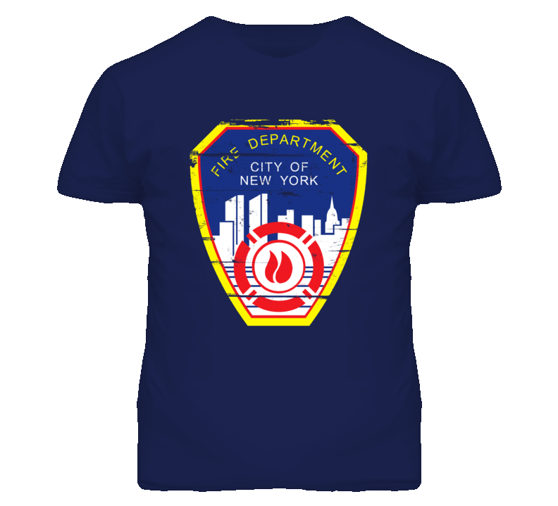 New York City Fire Department T Shirt