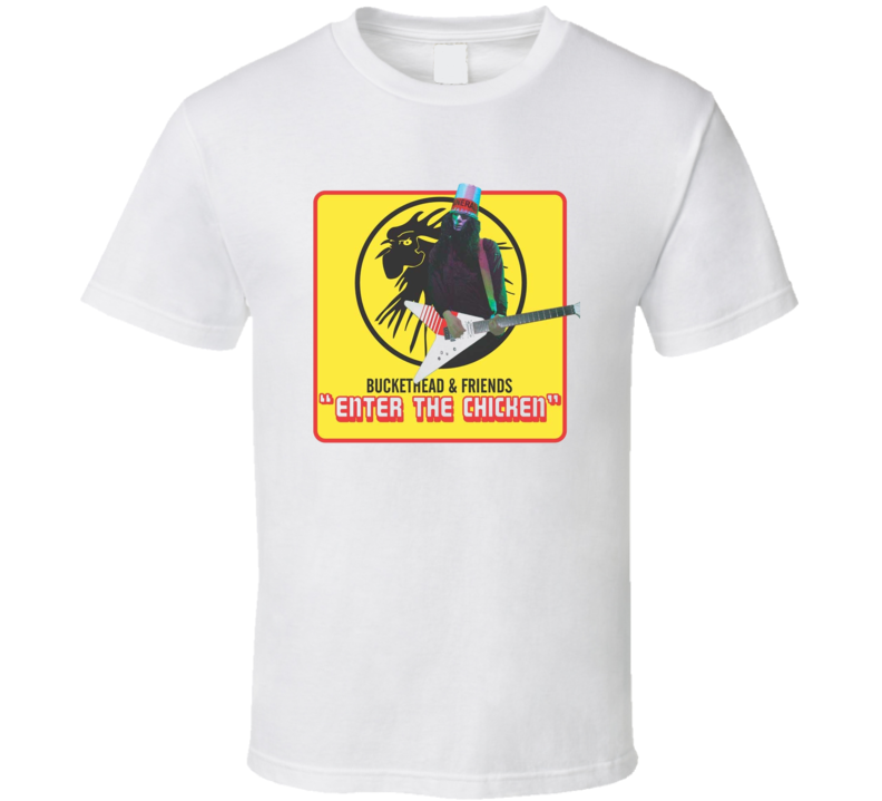 Buckethead Enter the Chicken Album 2005 Rock n RoL T Shirt