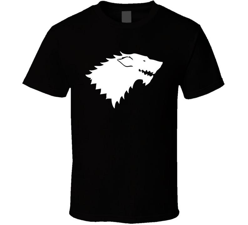Game of Thrones House Stark Logo Winter is Coming Tv Show T Shirt
