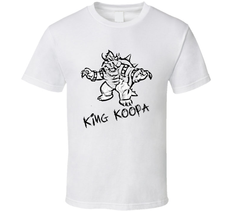 King Koopa Bowser Nintendo T Shirt