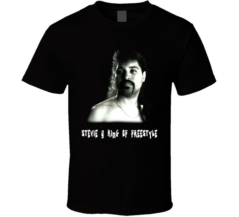 Stevie B Freestyle Techno Music Singer T Shirt