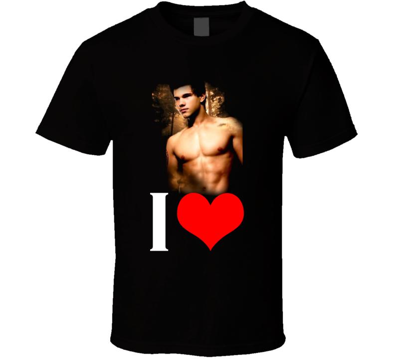 Jacob Black Twilight Movie T Shirt