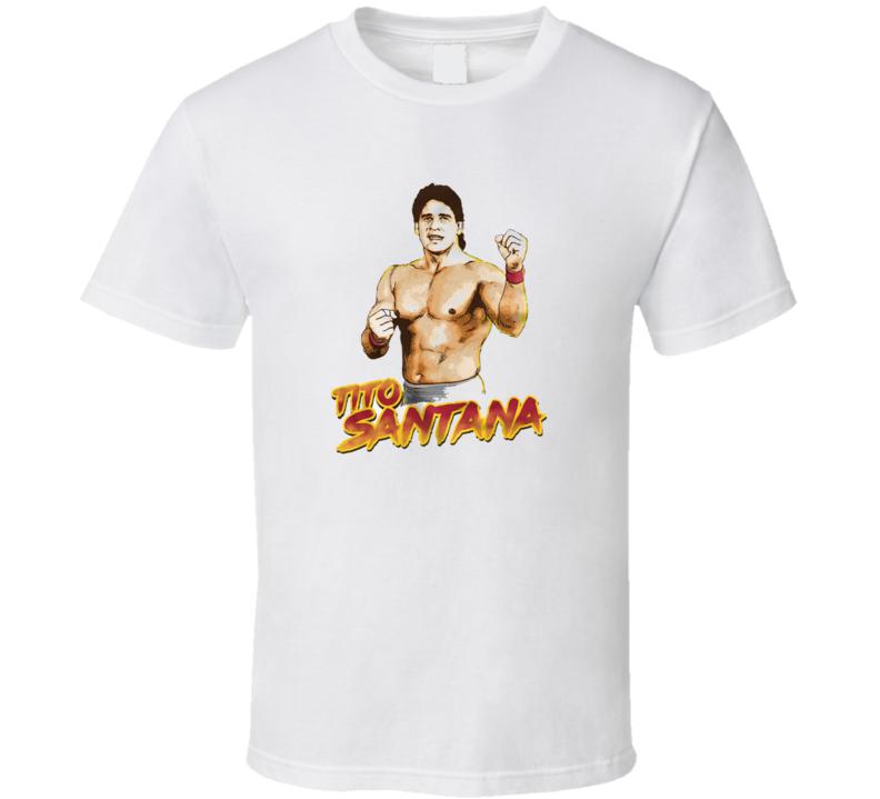 Tito Santana Wwf Legend Wrestling Retro Classic T Shirt