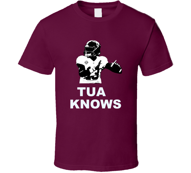 Tua Tagovailoa Hawaiian Qb Alabama T Shirt