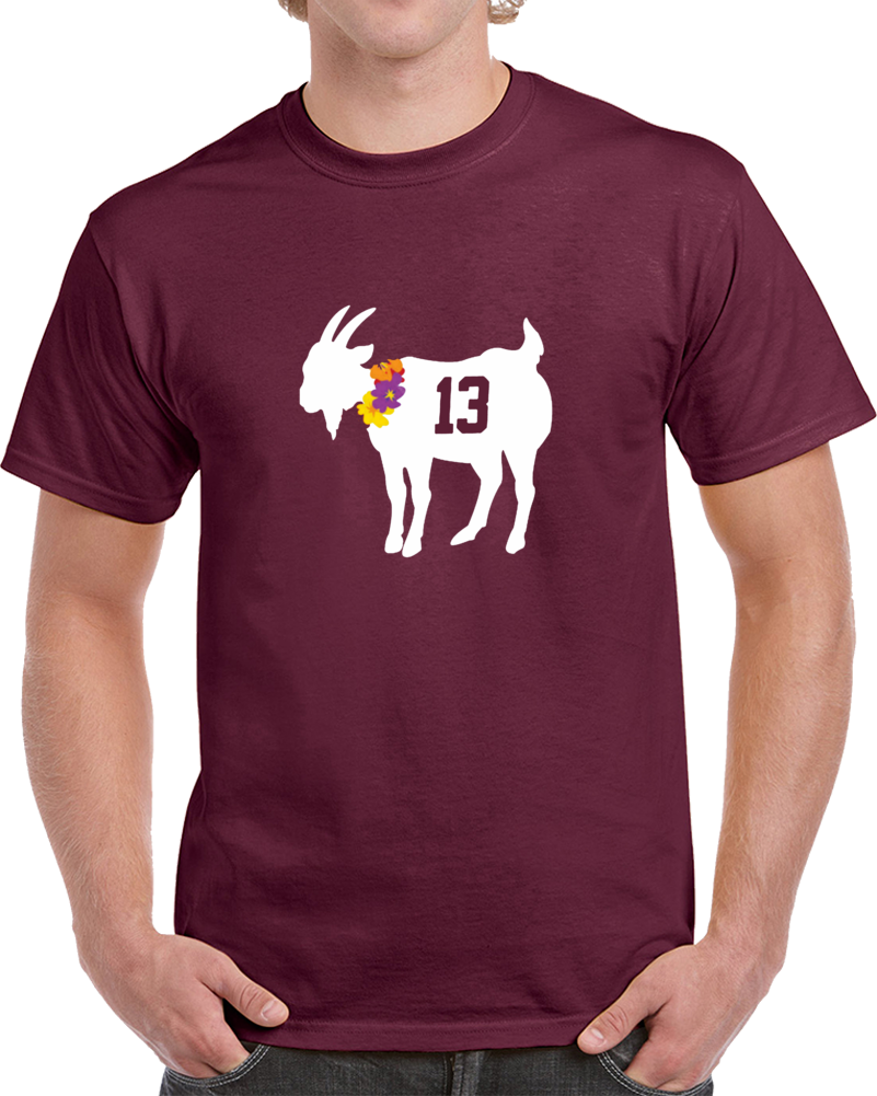Alabama Football College Tua Tagovailoa Hawaiian Goat 13 T Shirt