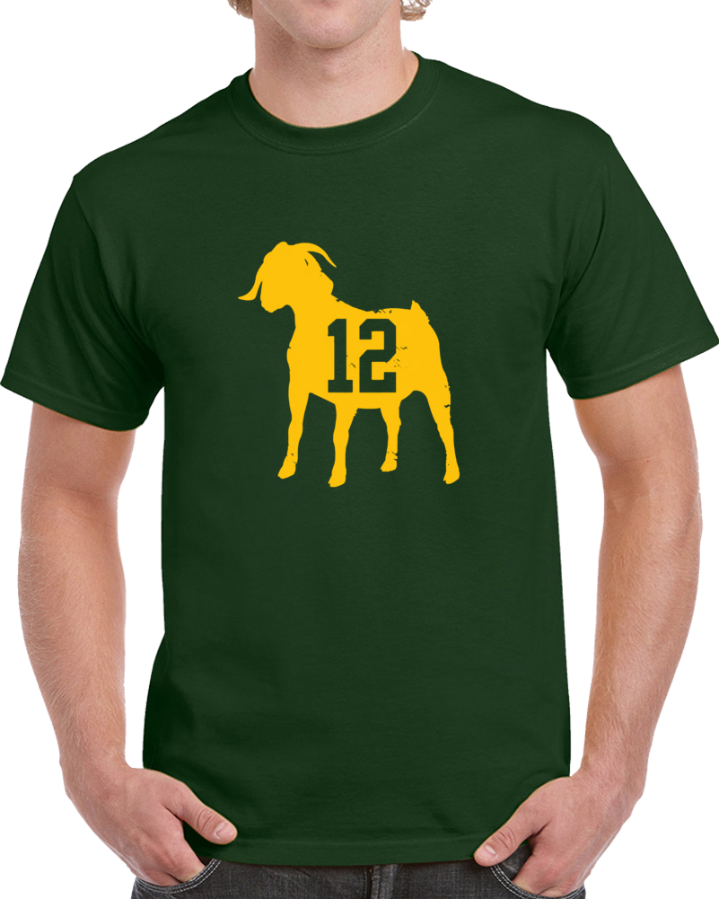 Aaron Rodgers Green Bay Qb G.o.a.t. T Shirt