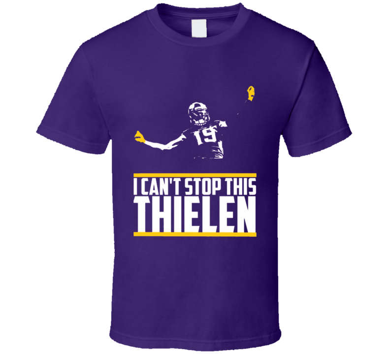 Case Keenum I Cant Stop This Feelin Minnesota Football T Shirt