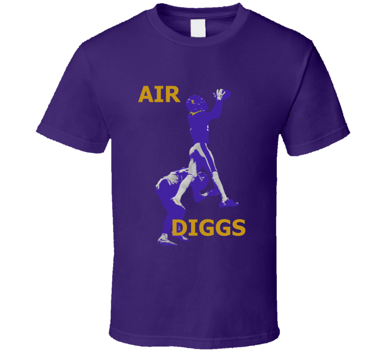 Air Diggs Stefon Wide Receiver Minnesota Football The Catch T Shirt