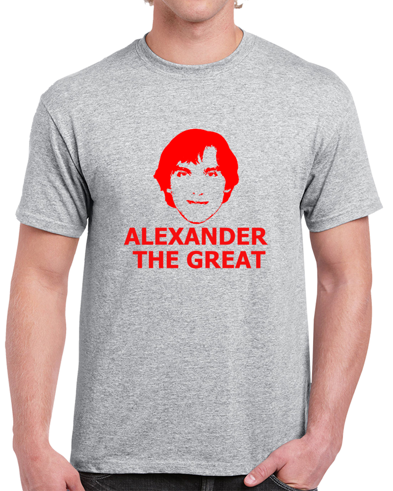 Alexander The Great Ovechkin Washington Hockey Silhouette T Shirt