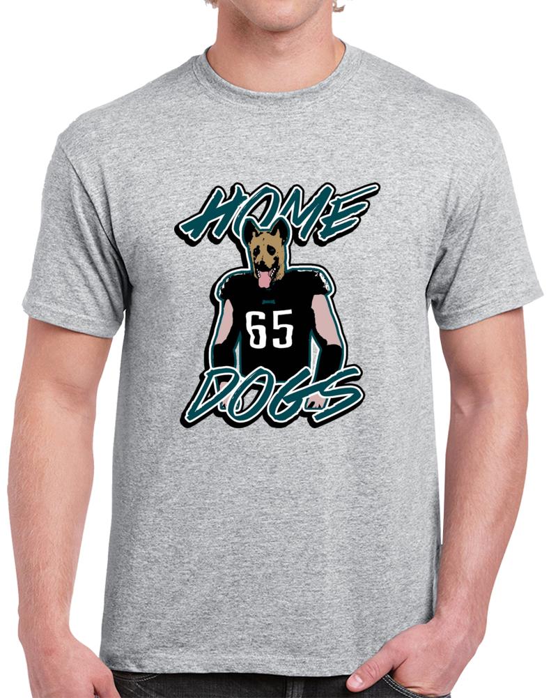 Lane Johnson Philadelphia Home Dogs Footbal Sport Gray T Shirt