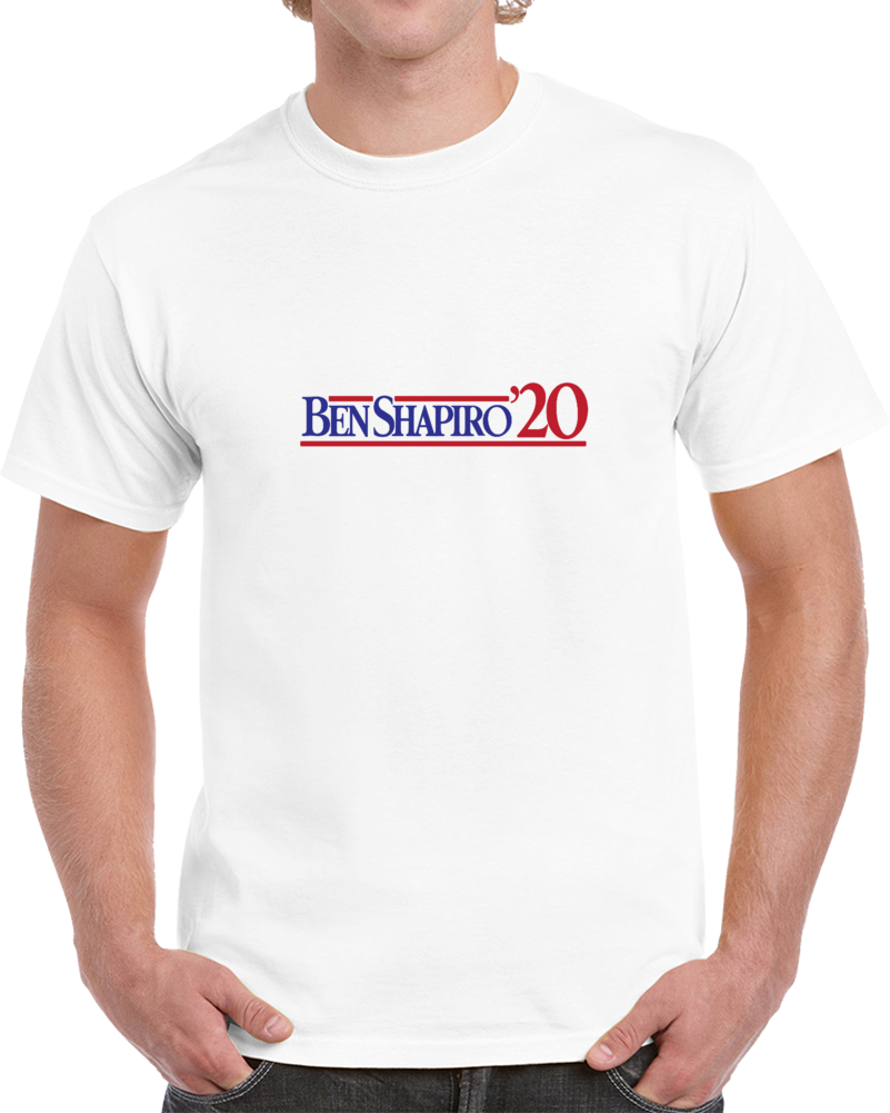 Ben Shapiro For President Men And Youth White T Shirt