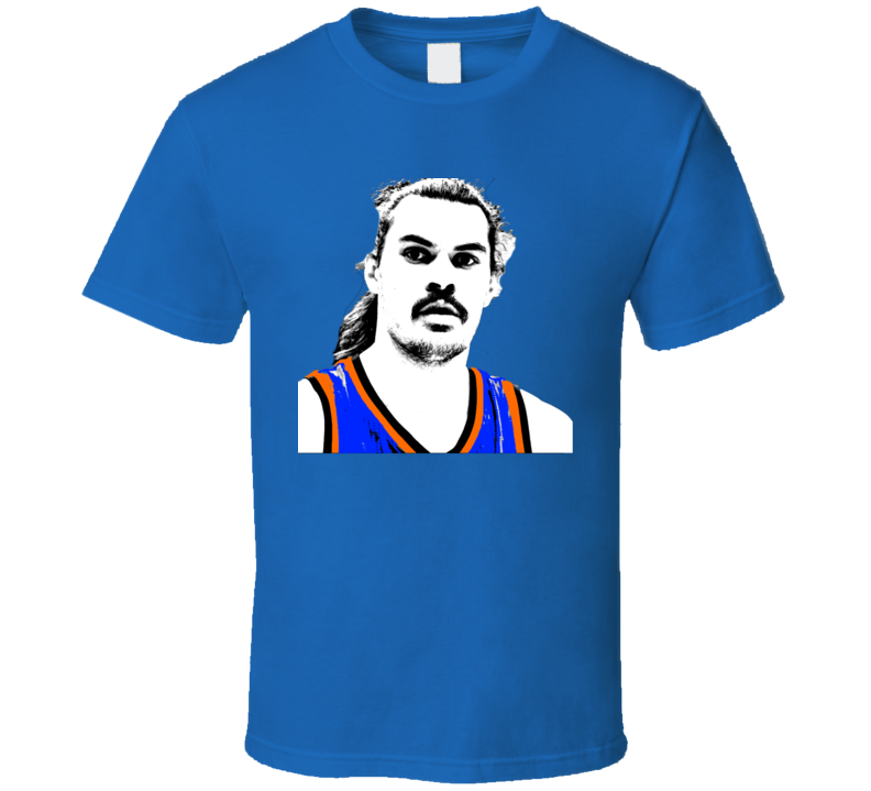 Steve Adams Oklahoma City Big Head Silhouette Basketball T Shirt