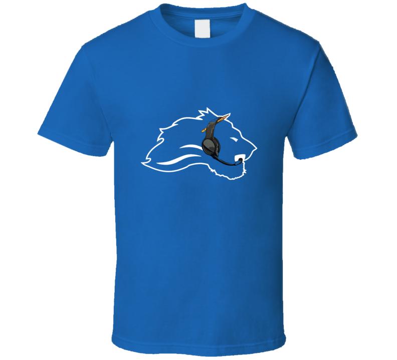 Detroit Matt Patricia Head Coach Logo Football T Shirt
