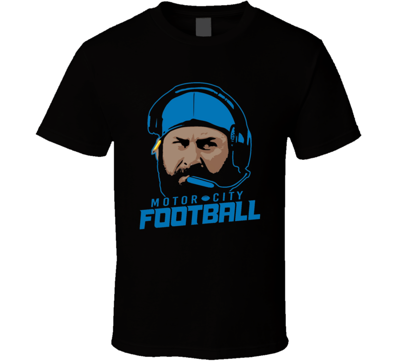 Matt Patricia Detroit Motor City Football New Coach T Shirt