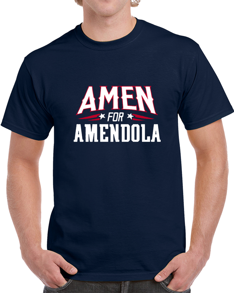 Danny Amendola Amen For 80 New England Boston Football T Shirt