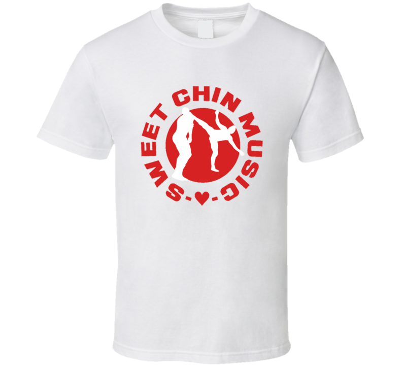 Shawn Michaels Heartbreak Kid Sweet Chin Music Wrestling T Shirt