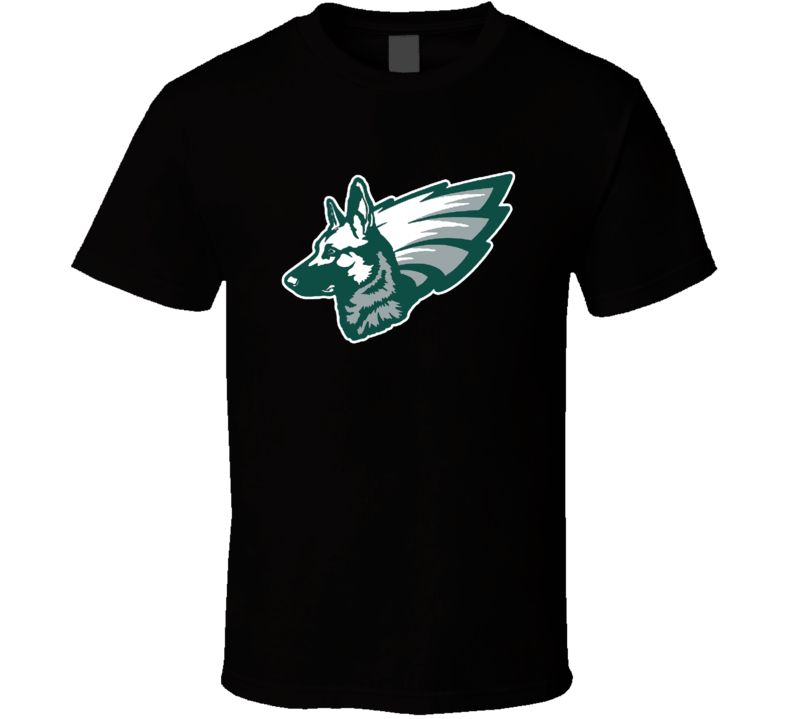 Philadelphia Underdogs Hybrid Logo Football T Shirt