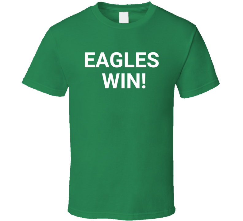Philadelphia Wins Suoerbowl Champs Football T Shirt