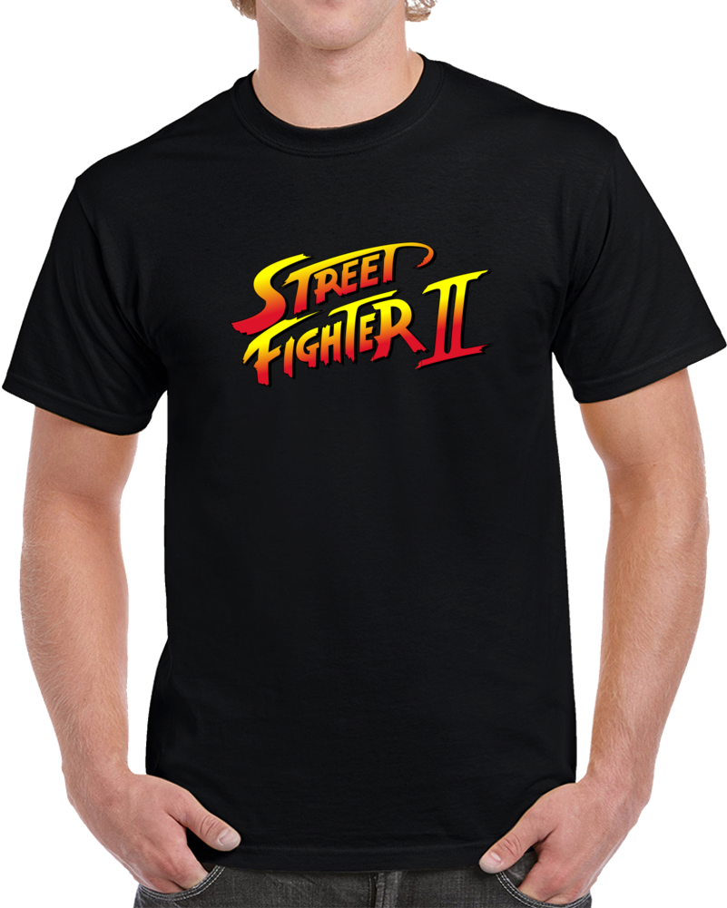 Street Fighter 2 Video Game Nintendo Sega Arcade  Shirt