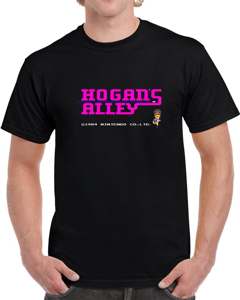 Hogans Alley Open Screen Retro Nintendo Video Game T Shirt