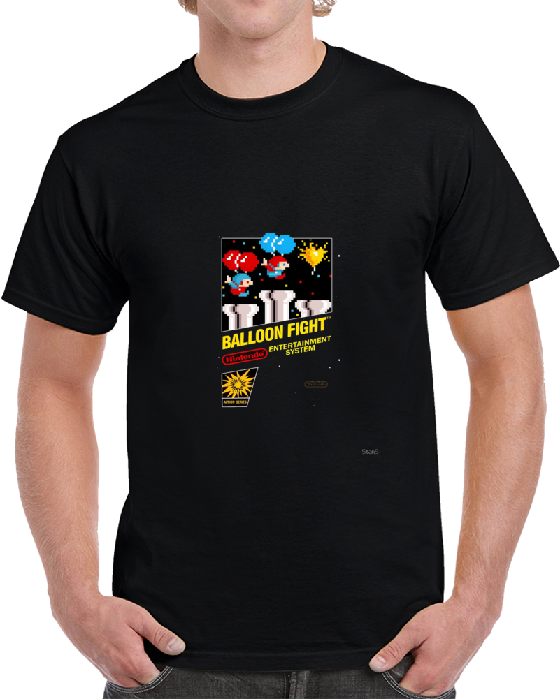 Ballon Fight Nintendo Retro Video Game Gaming T Shirt