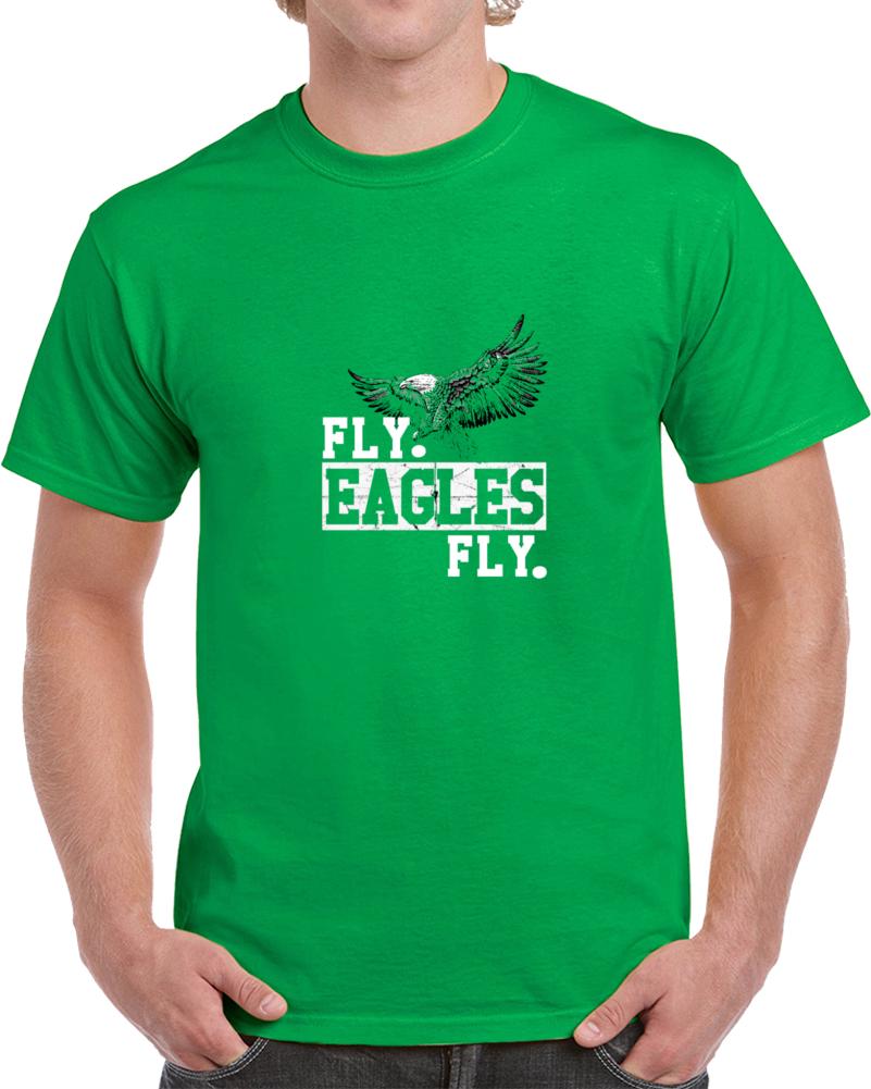 Fly Eagles Fly Philadelphia Football T Shirt