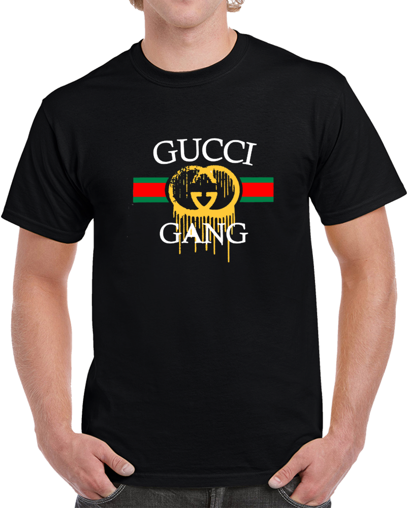 Gucci Gang Men's T-shirt. Lil' Pump Inspired Hip Hop Music Urban Esketit shirt