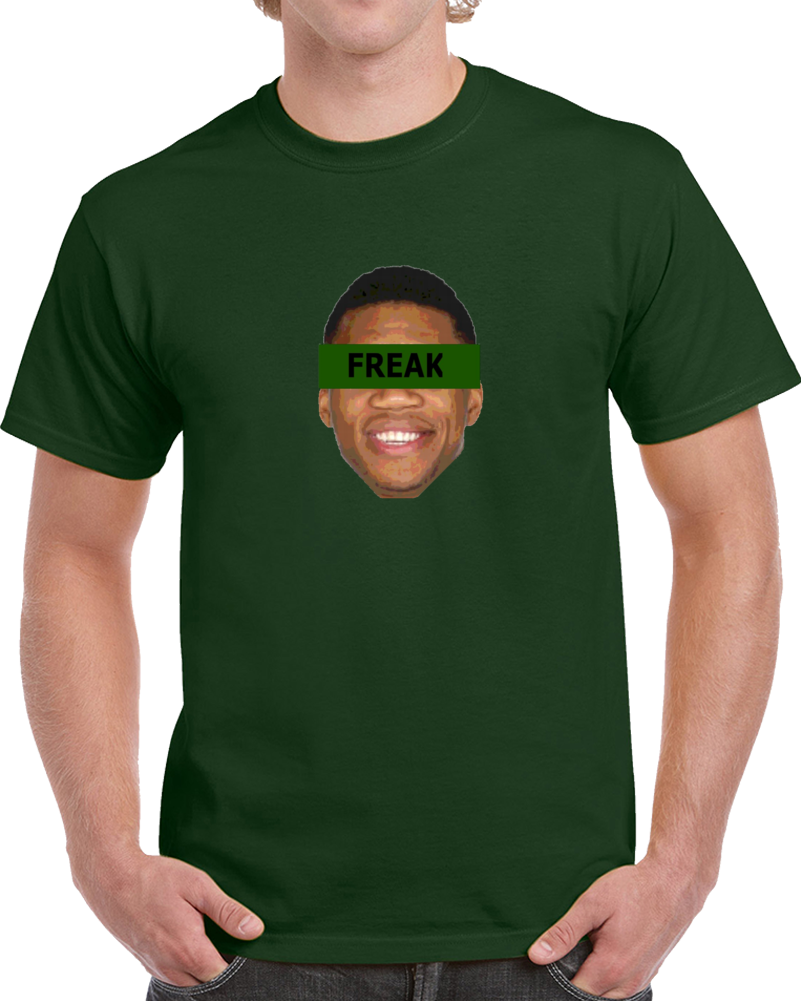 Milwaukee Greek Freak Giannis Antentokoumpo Basketball Big Head T Shirt