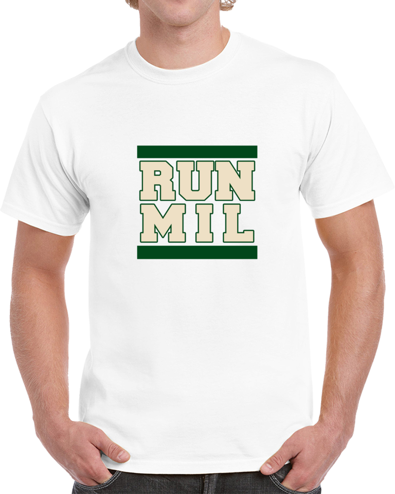 Run Milwaukee Greek Freajk Run Dmc Style Basketball T Shirt