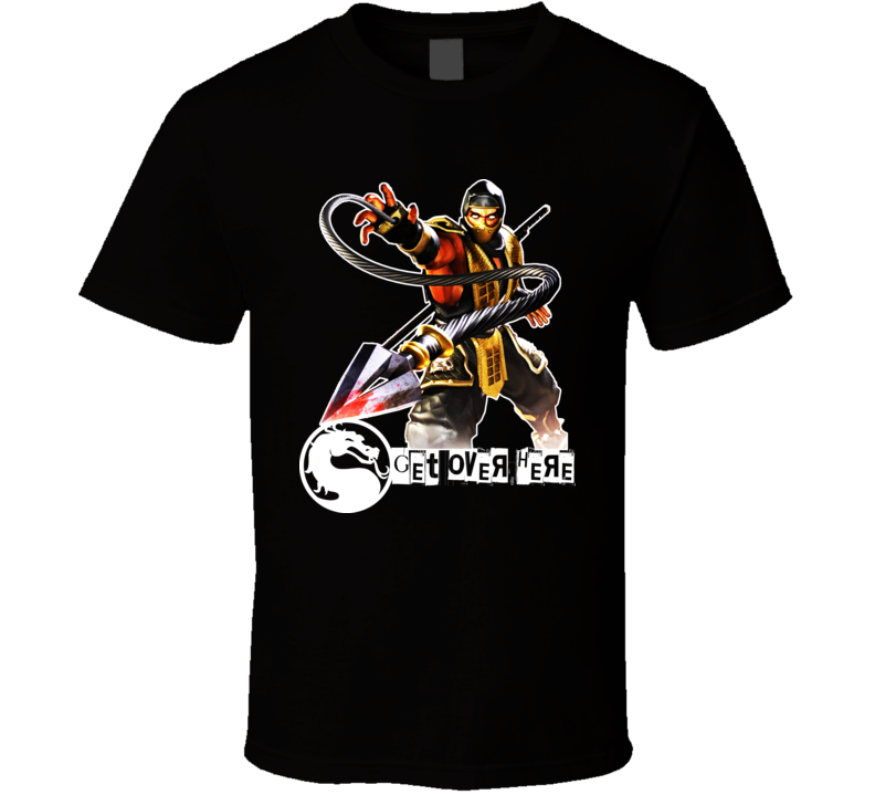 Scorpion Mortal Kombat T Shirt
