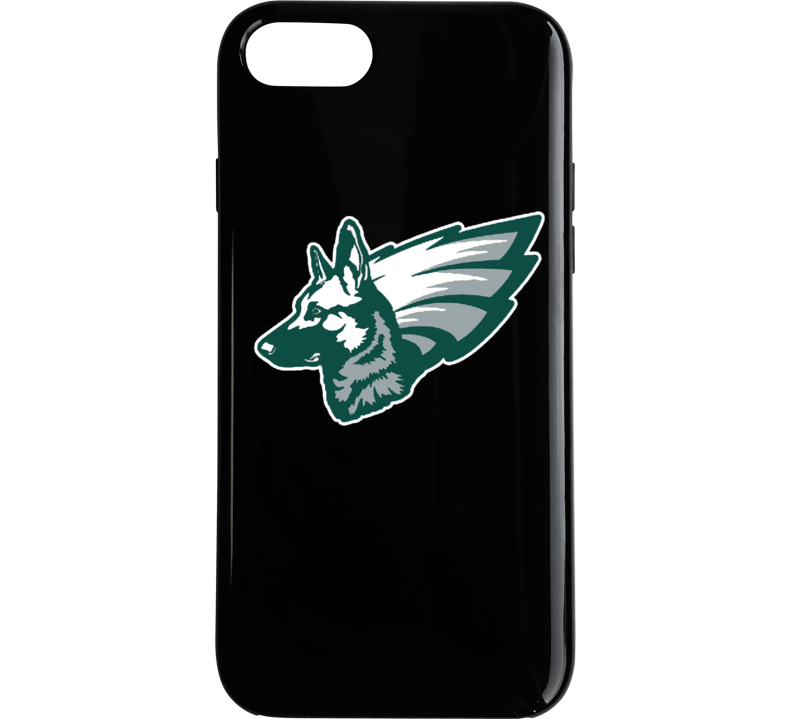 Philadelphia Superbowl Underdog I Phone Case Black